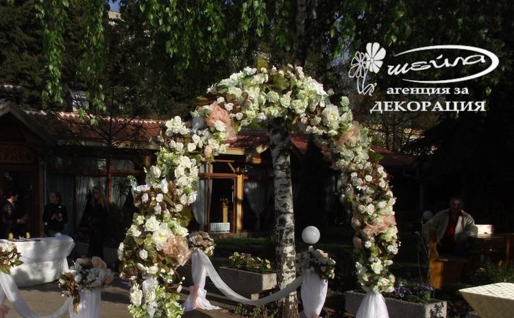 Сватбена арка и стойки